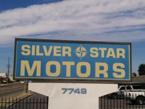 photo of silverstar motors sign