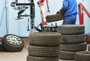 Picture of wheel at tyre
