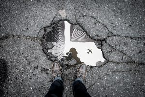 Photo of a Pothole that could Damage Your Luxury Mercedes or BMW