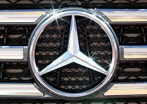 Photo of the Mercedes Benz Emblem